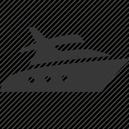 boat, raw, simple, traffic, transport, transportation, travel, yacht icon