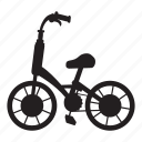 bicycle, bike, cycle, cycling, exercise, health, pedal icon