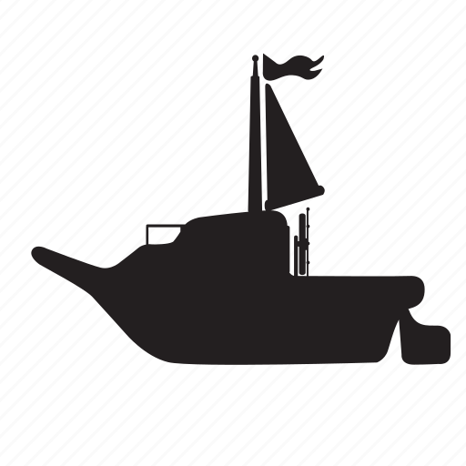 marine, sail, sailing, transport, water, yacht icon