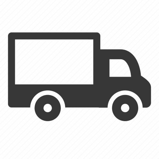 delivery van, raw, simple, transport, transportation, travel, truck icon