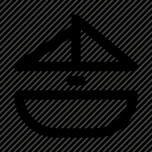 boat, ship, transport, transportation icon