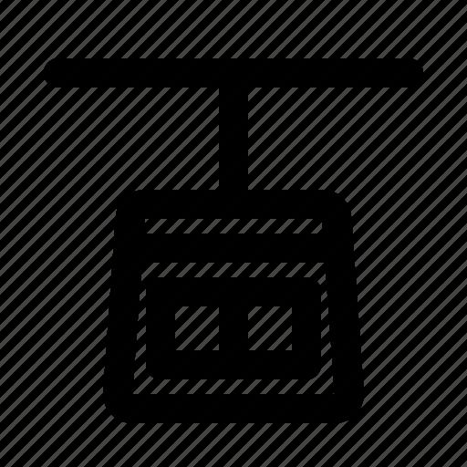 Gondola, transport, transportation, vehicle icon - Download on Iconfinder