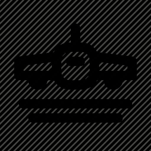Airplane, plane, transport, transportation icon - Download on Iconfinder