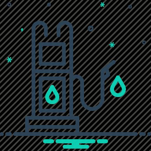 Diesel, fuel, gasoline, petrol, pump, refueling icon - Download on Iconfinder