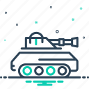 army, attack, battle, fight, gulf, tank, vehicle icon