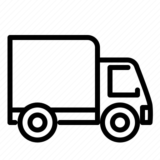 car, delivery, service, transportation, truck, van, vehicle icon