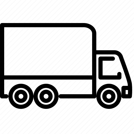 cargo, delivery, flatbed, service, transportation, truck icon