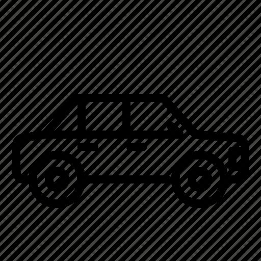 car, sedan, transportation, vehicle icon