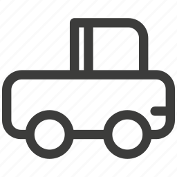 automobile, car, delivery, transportation, travel, truck, trucking icon
