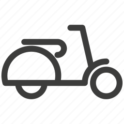 convenience, entertainment, rest, scooter, traffic, transportation icon