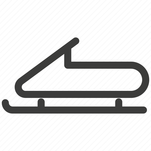 bobsled, entertainment, extreme, rest, sled, sports, transportation icon