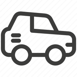 auto, automobile, car, delivery, driving, transportation, travel icon