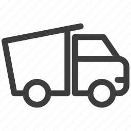 auto, delivery, dump, transportation, truck, trucking, vehicle icon