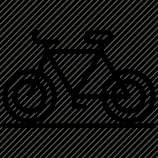 bicycle, bike, exercise, sport, transport, transportation, vehicle icon