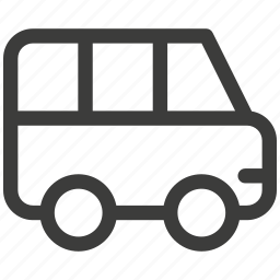 auto, bus, car, delivery, traffic, transport, transportation icon