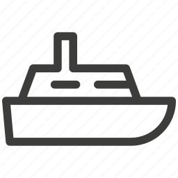 boats, delivery, journey, rest, ship, transportation, yacht icon