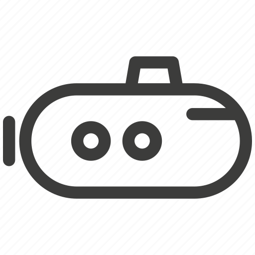 atomic, boats, ocean, power, ship, submarines, transportation icon