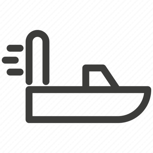 aerolizer, boats, extreme, motor, prop, rest, transportation icon