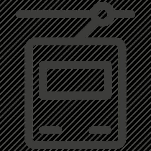 delivery, traffic, tram, transport, transportation, travel icon