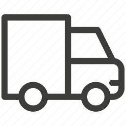 auto, car, delivery, transport, transportation, truck, trucking icon