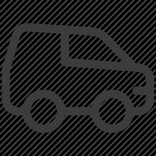 auto, automobile, car, delivery, transport, transportation, travel icon