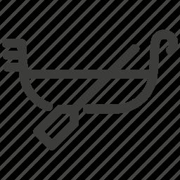 boat, canoe, journey, rest, ship, transport, transportation icon