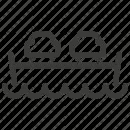 boat, car, crossing, ferry, ship, transport, transportation icon