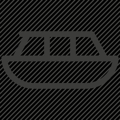 boat, delivery, journey, rest, ship, transport, transportation icon