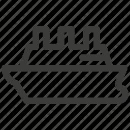 boat, delivery, journey, liner, ship, transport, transportation icon