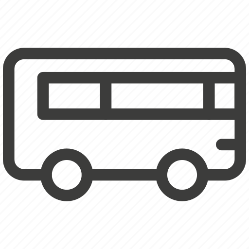 bus, delivery, journey, traffic, transport, transportation, travel icon