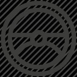 body, car, driving, managemen, transportation, wheel icon