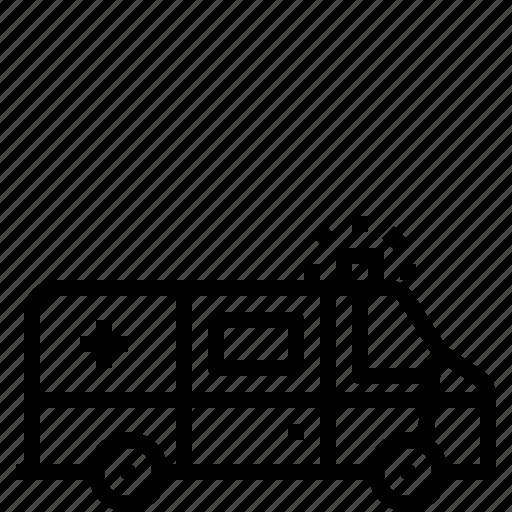 Ambulance, emergency, healthcare, hospital, medical, medicine icon - Download on Iconfinder