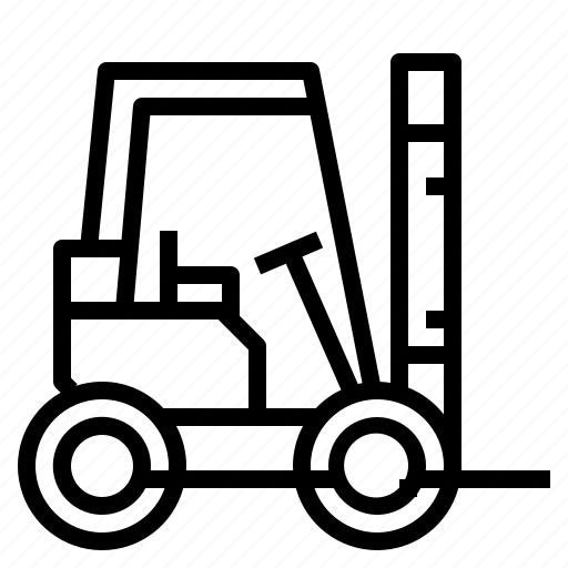 delivery, fork, lift, shipping, vehicle icon