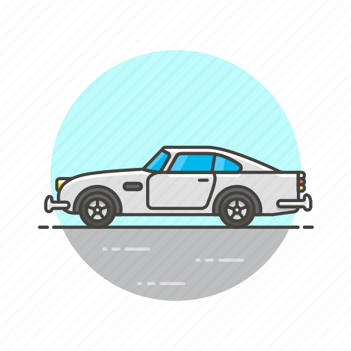 automobile, car, road, transportation, vehicle, white icon
