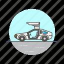 car, transportation, road, automobile, white, sport, vehicle