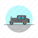automobile, car, old, retro, road, transportation, vintage icon
