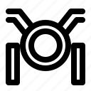 car, headlamp, machine, motorcycle, transportation, vehicle icon