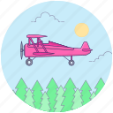 air transport, aircraft, chopper, heli, helicopter transport, passenger helicopter icon