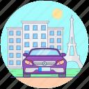 car, fast car, luxury car, personal car, sports car icon