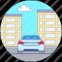 fast car, luxury car, personal car, racing car, suv sports car icon
