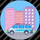 emergency ambulance, emergency automobile, emergency vehicle, hospital cargo, hospital transport icon