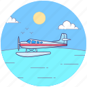 air transport, aircraft, chopper, heli, helicopter transport icon