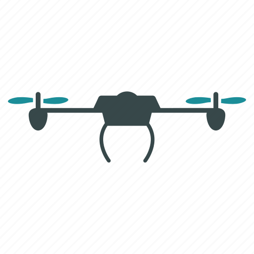 airdrone, flying drone, nanocopter, quad copter, quadcopter, radio control uav, unmanned aerial vehicle icon