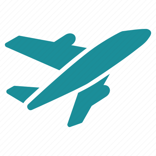 air, aircraft, airplane, airport, aviation, flight, plane icon
