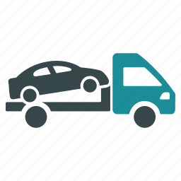 automobile, crane, evacuator, service, tow truck, transportation, wrecker icon