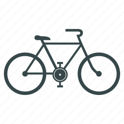 bicycle, bike, cycle, drive, driving, exercise, ride icon