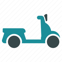 bike, chopper, motorbike, motorcycle, scooter, transport, vehicle icon