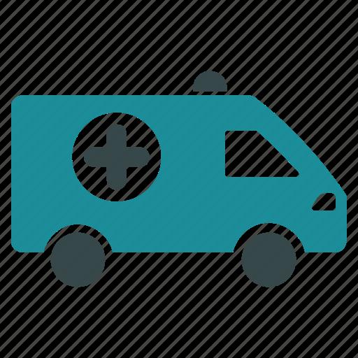 alert, ambulance, emergency car, hospital transport, medical help, medicine, transportation icon