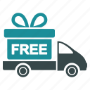 logistics, transportation, shipping, delivery, shipment, free, gift