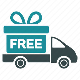 delivery, free, gift, logistics, shipment, shipping, transportation icon